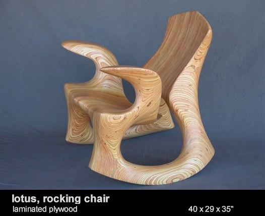 scaun de lemn sculptat, david delthony