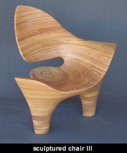 sculptured chair III